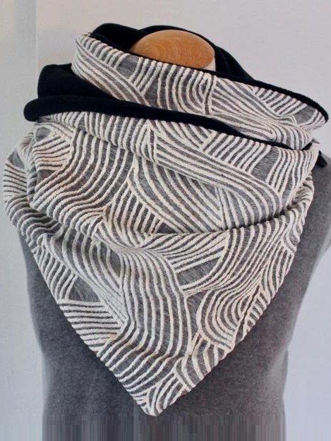 Vintage Cotton-Blend Scarves & Shawls