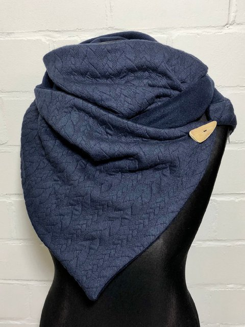 Solid Casual Cotton-Blend Scarves & Shawls