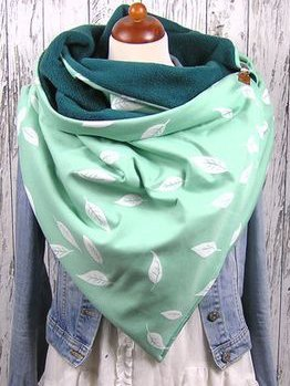 Floral Cotton Casual Scarves & Shawls