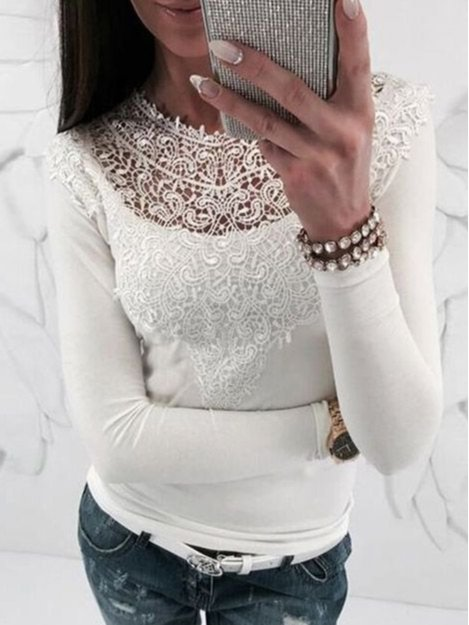 Cotton Sexy Lace Tops