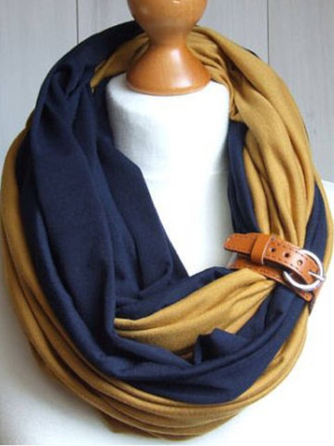 As Picture Casual Cotton-Blend Plain Scarves & Shawls