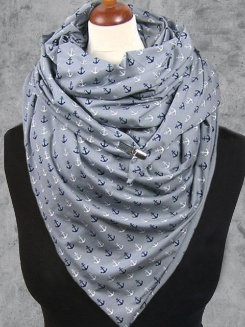 Casual Floral-Print Scarves & Shawls