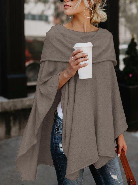 Women's casual shawl