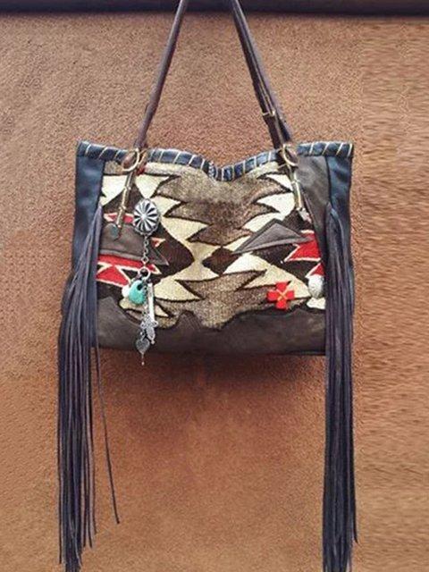 Vintage PU Casual Shoulder Bags