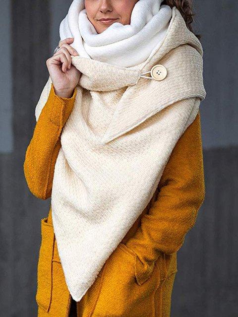 White Plain Casual Scarves & Shawls