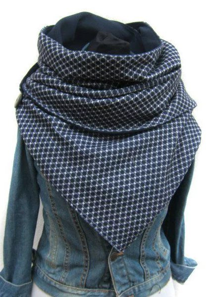 Casual Cotton Checkered/plaid Scarves & Shawls