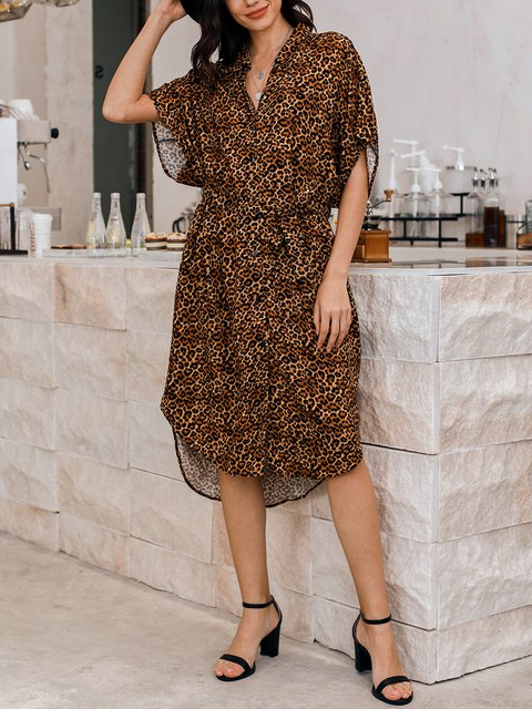 Brown Holiday Shift Dresses