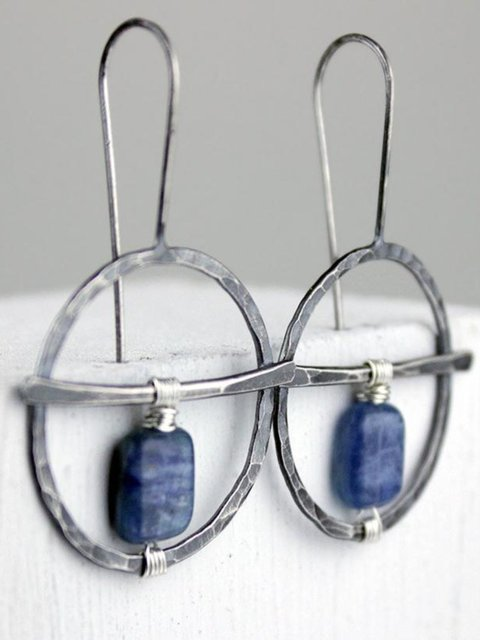 Fashion Casual Sweet Sliver Vintage Earrings