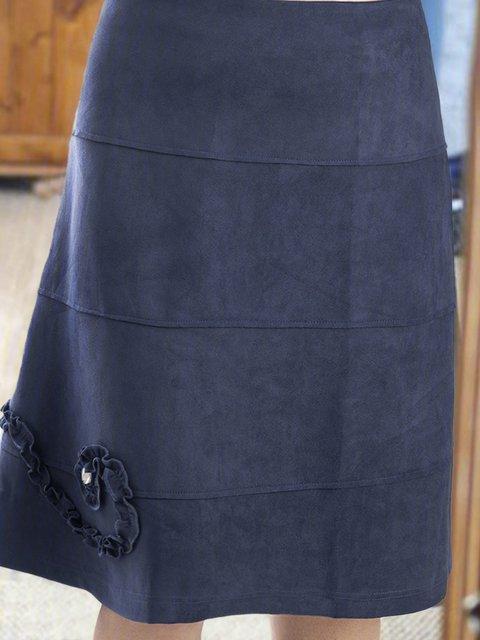 Plain Casual Skirts