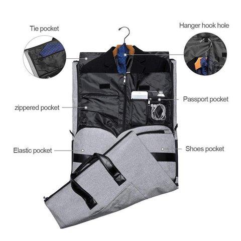 2 In 1 Travel Garment Bag