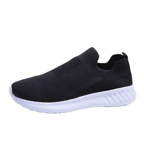 Casual Flat Heel Fabric Sneakers