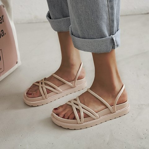 Open Toe Casual Daily Slippers