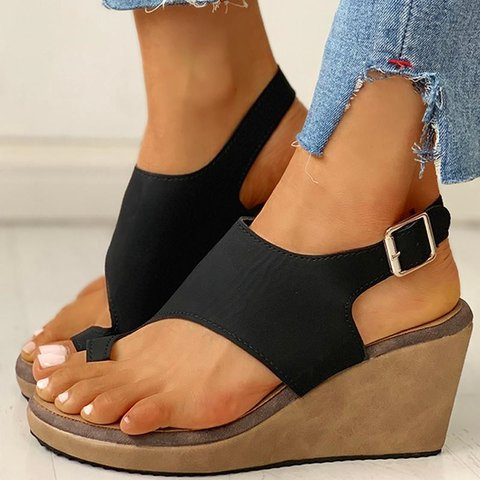 Women Casual Daily Summer Comfy Wedge Sandals