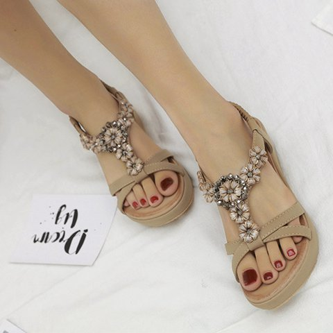 Pi Clue Beach Leather Sandals