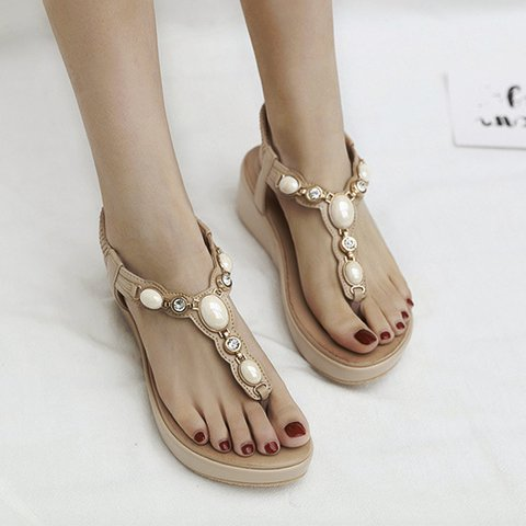 Pi Clue Wedge Heel Sandals