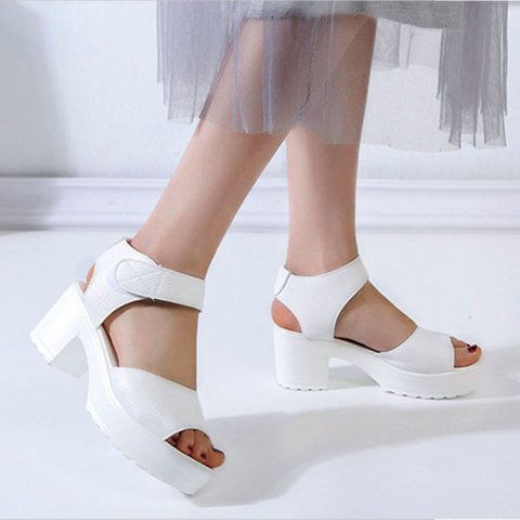 Pi Clue Dress Artificial Leather Sandals