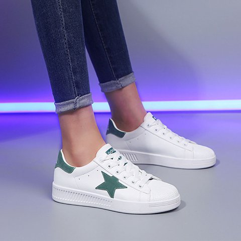 Pi Clue Flat Heel Casual All Season Sneakers