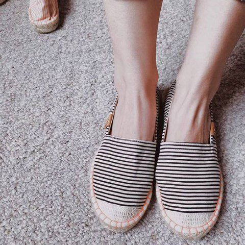 Casual Slip on Espadrille Shoes