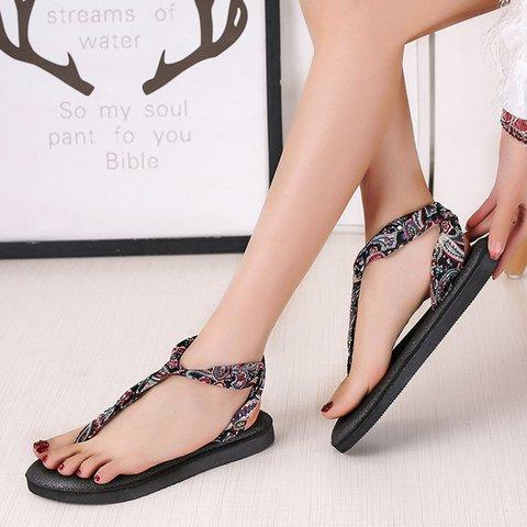 Pi Clue Date Printed Satin Sandals