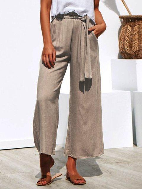 Shift Plain Cotton Pants