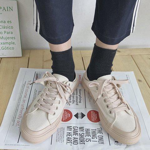 Pi Clue Canvas Flat Heel All Season Flats