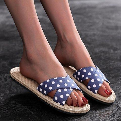 Printed Eva Flat Heel Summer Slippers