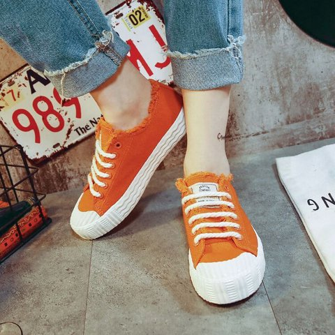 Women Summer  Casual Slip-On Canvas Sneakers