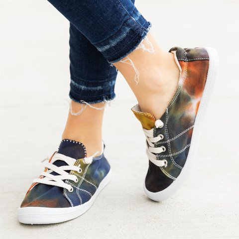 Summer Lace-Up colours Sneakers