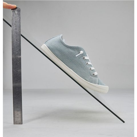 Sky Blue Canvas Summer Sneakers
