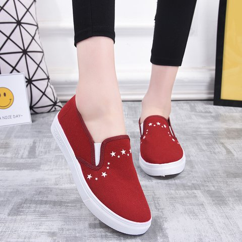 Women Summer  Casual Cloth Sneakers