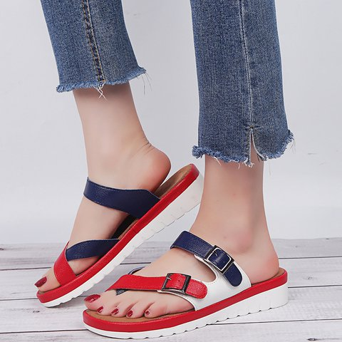 Women Casual Daily Comfy Platform Sandals