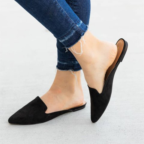 Perfect Slip On Mules