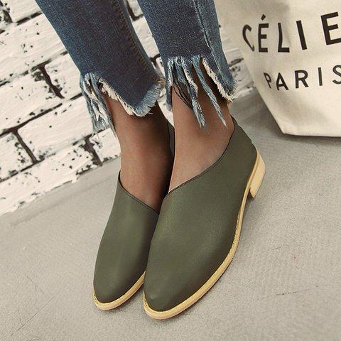 Retro Casual Comfortable Side Air Low Heel Sandals