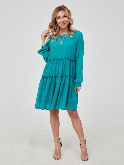 Green Women Dresses Floral-Print Dresses