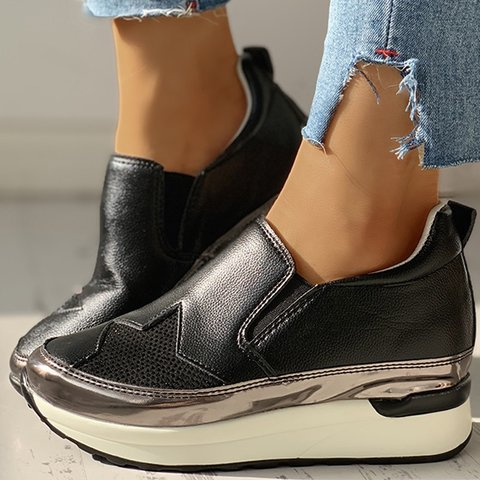 Women Casual Daily Comfy Slip On Sneakers