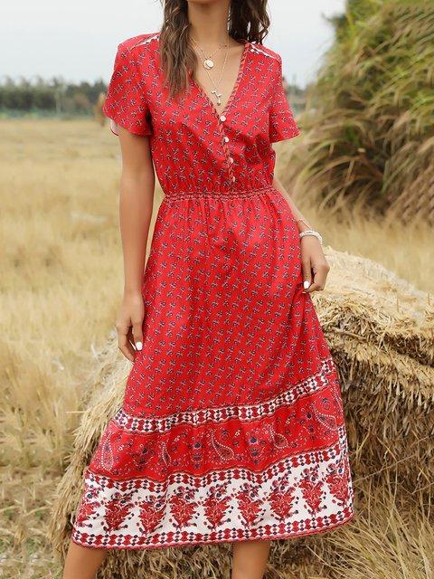 Boho Printed Dresses