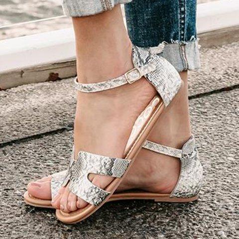 Women Comfy H Strap Sandal