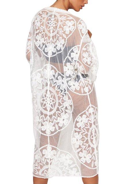 White Short Sleeve Dresses