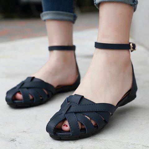 Daily Summer Button Slip-On Sandals