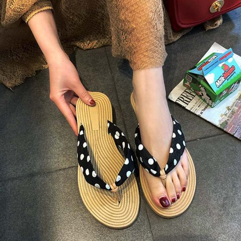 Pi Clue Satin Summer Holiday Slippers