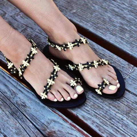 Plus Size Summer Beach Bohemian Sandals