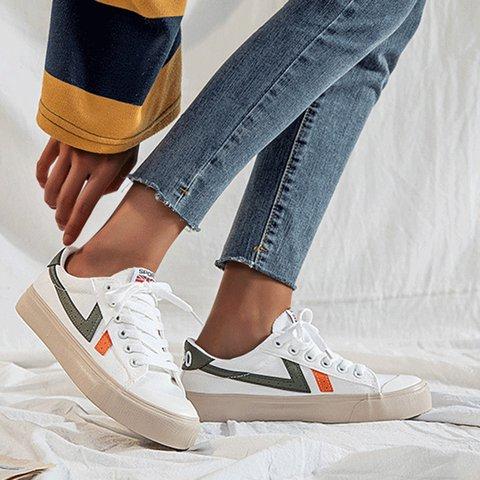Split Joint Winter Canvas Sneakers