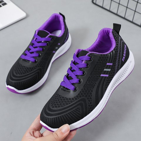 Pi Clue Artificial Leather Flat Heel Athletic Sneakers