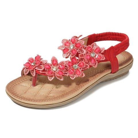 Vintage Classic Camellias Women's flip-flop Sandal
