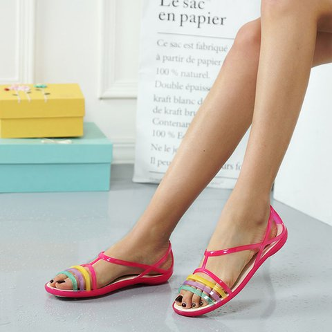 Pi Clue Flat Heel Summer Sandals