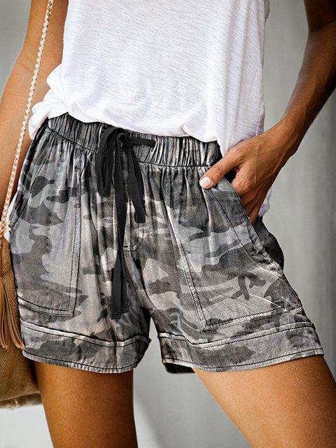 Cotton Leopard Pants