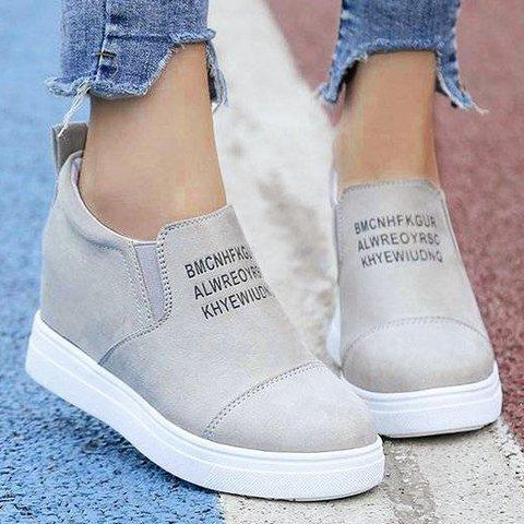 Flat-bottomed Leisure single shoe
