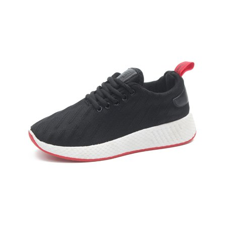 Flat Heel Fabric Date Sneakers
