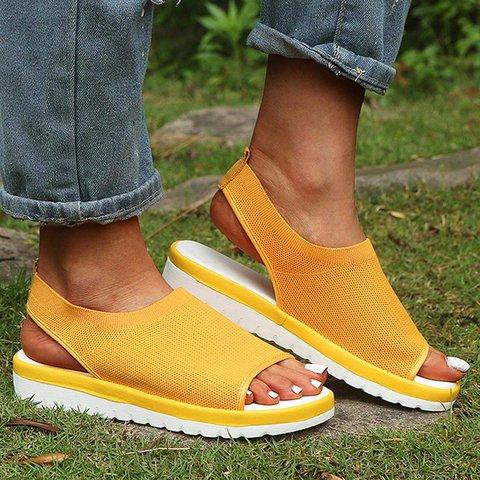 Women Breathable Simple Comfy Sandal