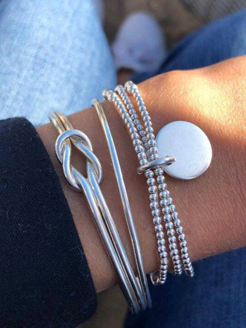 As Picture Simple Alloy Sets Bracelets